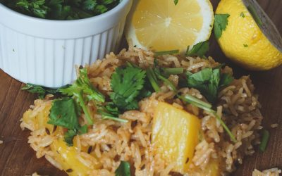 Pineapple Chipotle Rice