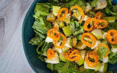 Simple Pear Salad